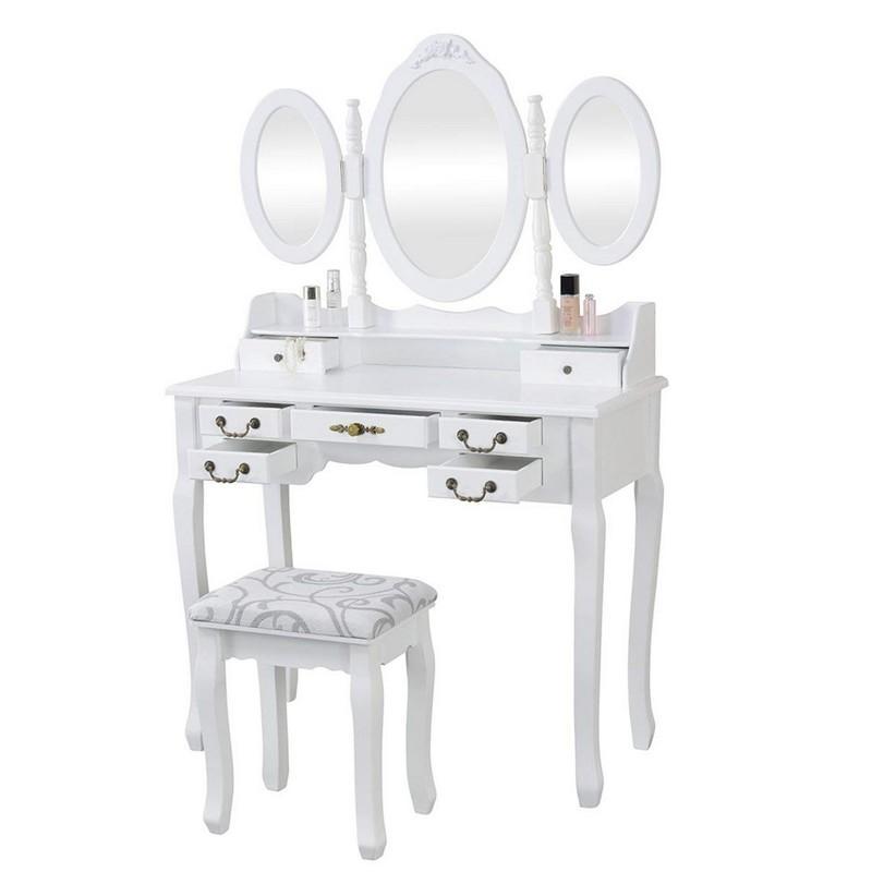 "Toaletní stolek Anne ""White"" Henriette"