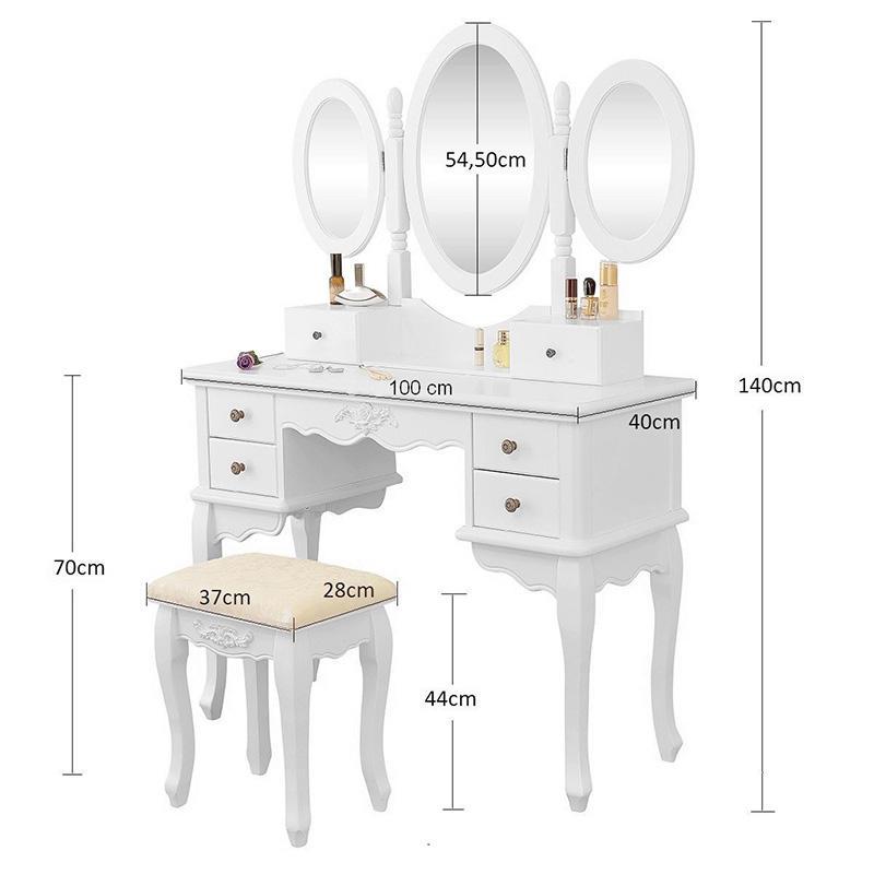 Toaletní stolek Rachel Blanche