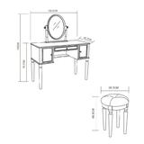 Toaletní stolek Charlotte Savoy