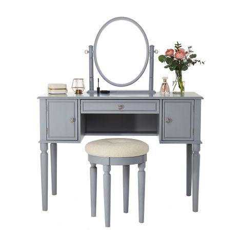 """Toaletní stolek Charlotte """"Grey"""" Savoy"""